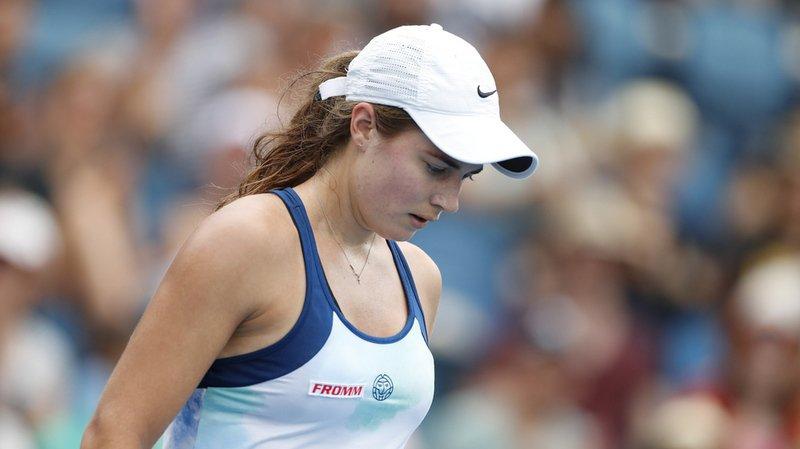Tennis – Open d'Australie: Stefanie Vögele et Viktorija Golubic éliminées après avoir gagné 3 jeux