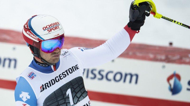 Ski alpin: Mauro Caviezel 4e du combiné de Wengen remporté par l'Autrichien Marco Schwarz