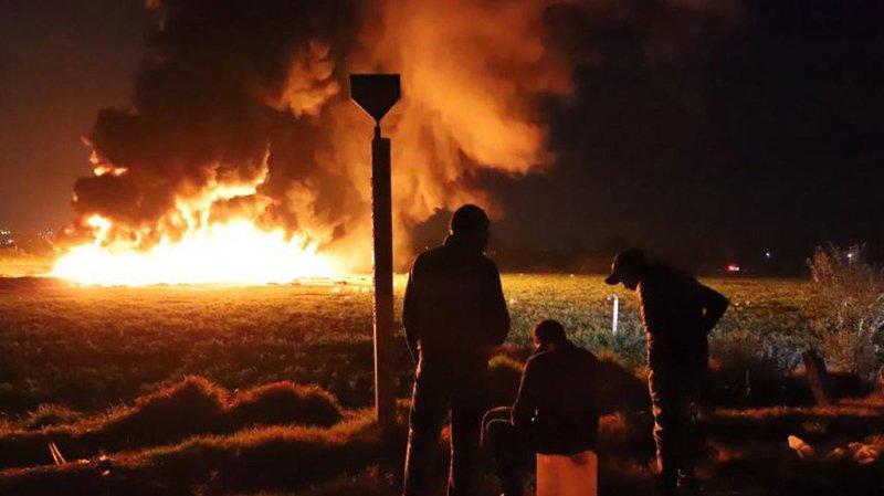 L'incendie s'est produit vendredi dans la localité de Tlahuelilpan, à environ 100 km au nord de Mexico.