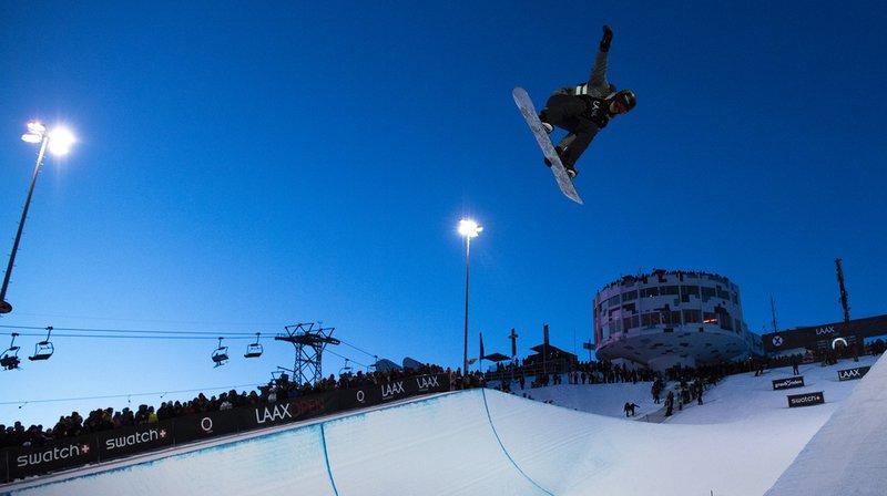 Snowboard: les Suisses loin du podium en half-pipe à Laax