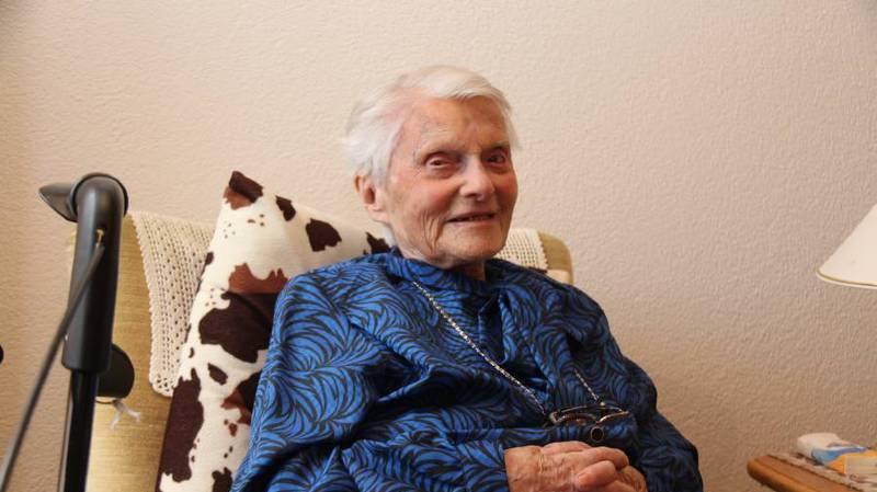 Alice Schaufelberger-Hunziker, probable doyenne des Suisses, fête ses 111 ans ce 11 janvier