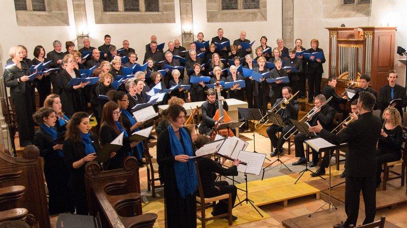 L'Ensemble vocal de Terre Sainte a pensé chacun des trois concerts comme un crescendo.