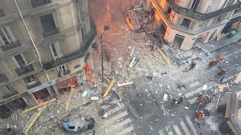 Explosion à Paris: le bilan s'élève à 4 morts
