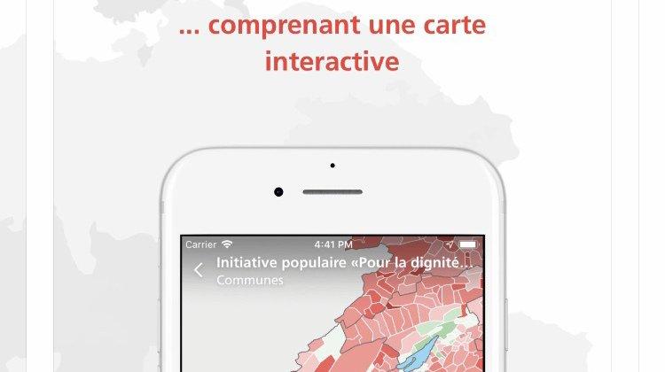 Votations: les Suisses pourront suivre les résultats en continu avec l'application VoteInfo