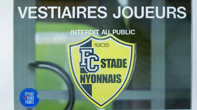 Tiago Escorza du LS au Stade Nyonnais