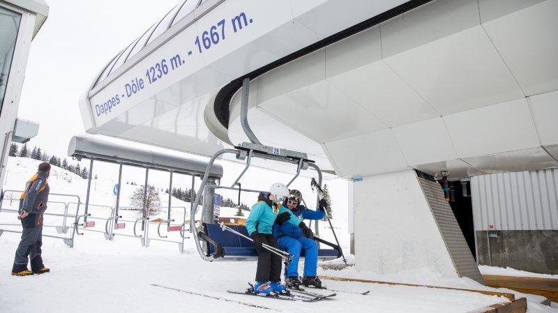 Ski: le massif de la Dôle ouvert dès samedi