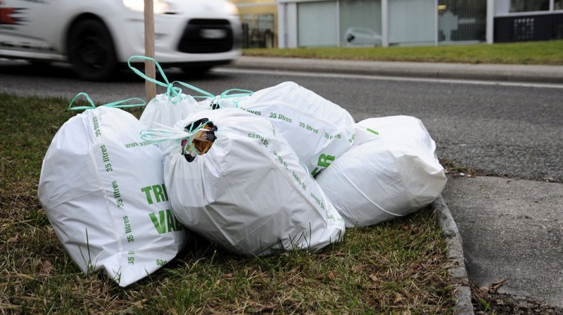 Morges: des sacs-poubelle acheminés à domicile