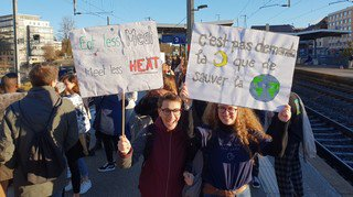 Les gymnasiens de la région en grève pour le climat