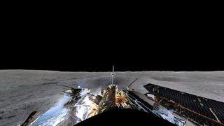 Espace: la sonde Chang'e 4 nous offre le premier panorama de la face cachée de la Lune