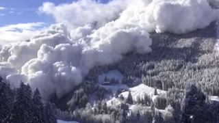Grisons: une avalanche monstrueuse déclenchée à Samnaun