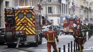 Explosion dans un commerce à Paris: plusieurs blessés