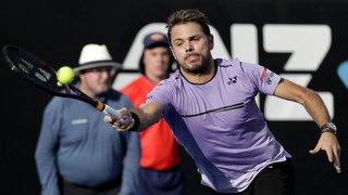 Tennis - Open d'Australie: Stan Wawrinka perd le premier set 6-3, mais Gulbis abandonne en début de deuxième manche