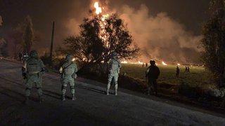 Mexique: un oléoduc explose, au moins 66 morts et une septantaine de blessés
