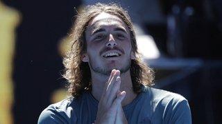 Tennis – Open d'Australie: Tsitsipas, le bourreau de Federer, en demi-finale contre Nadal