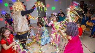 Gland: le bal masqué des enfants en images