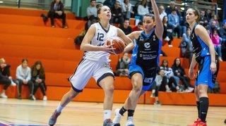 Le Nyon Basket Féminin sort vainqueur d'une âpre bataille