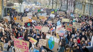 Grève pour le climat: le cri du coeur des gymnasiens de Nyon et Morges