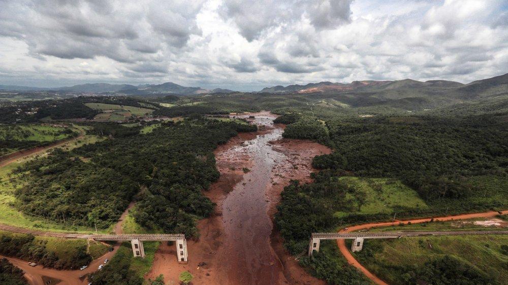 La rupture du barrage de Feijao da Vale, vendredi, a aussi provoqué des dégâts considérables sur l'environnement .