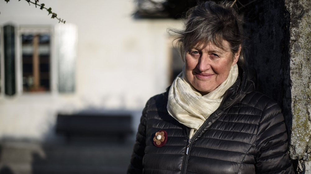 """A Yens, Christine de la Harpe est devenue une """"sentinelle"""" pour aider les agriculteurs et agricultrices en dépression."""