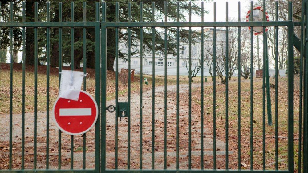 Au château de Divonne, aucun chantier en vue.