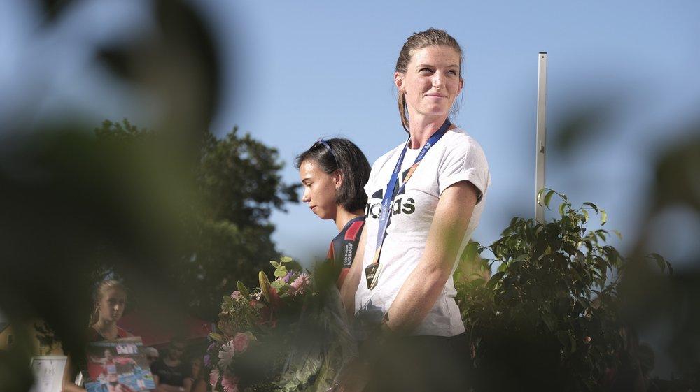 Championne d'Europe du 400 m haies, Lea Sprunger a désormais le regard tourné vers d'autres sommets.