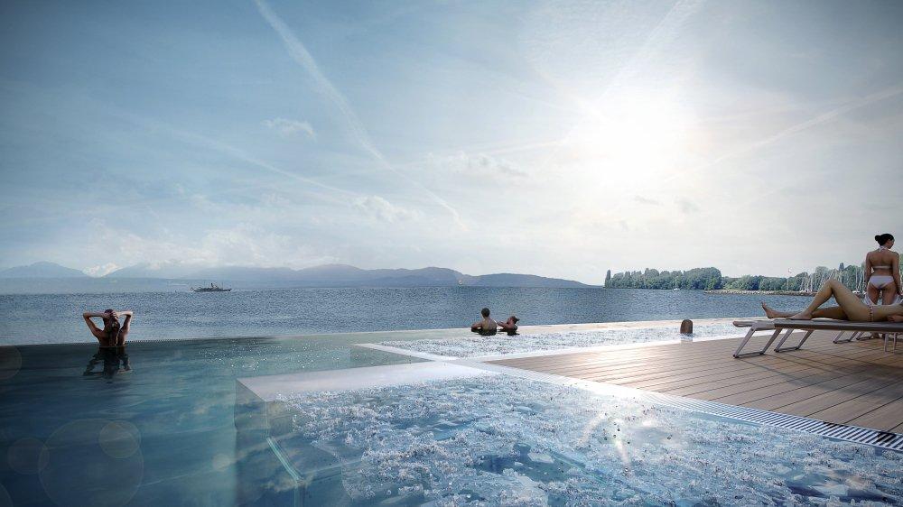 Le futur centre aquatique a été dévoilé à Morges en novembre.