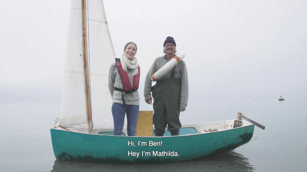 Mathilda et Benoît ont tourné une vidéo, avec une pointe d'humour, pour inciter les gens à les aider dans leur aventure.