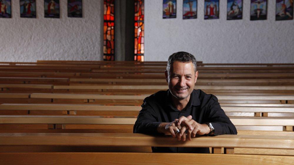 Serge Ilg définit sa spiritualité de manière large et sa croyance «sans étiquettes».
