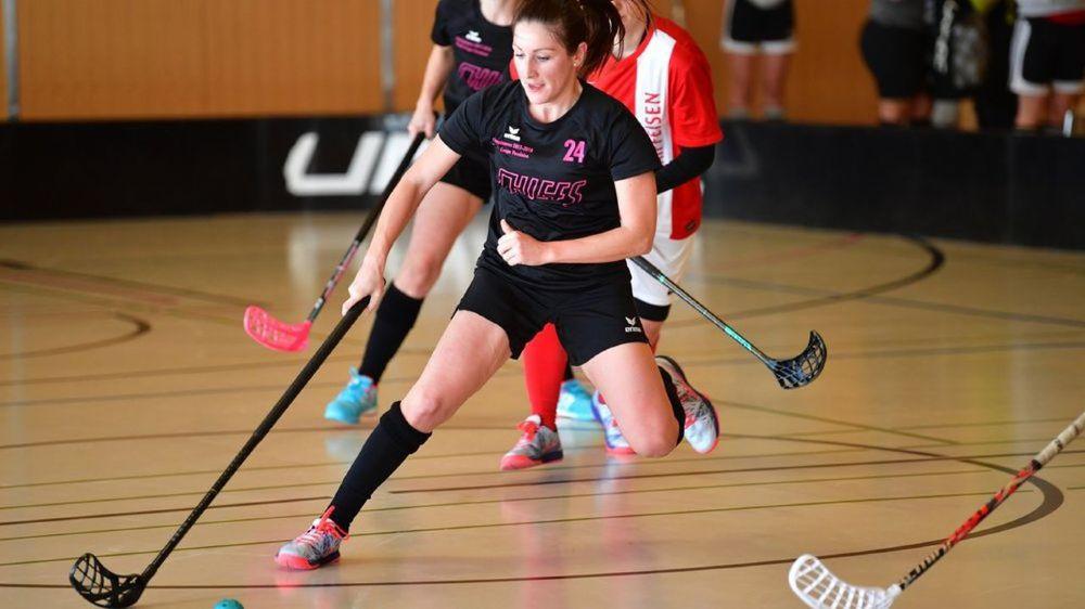 Les joueuses des Chiefs d'Apples (ici Emilie Fontannaz), constituent aujourd'hui l'équipe féminine phare de La Côte.