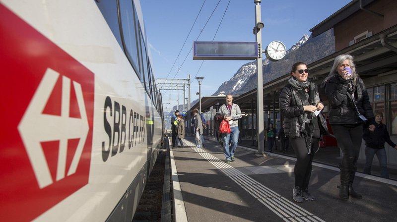 Un train Intercity sur six n'est pas à l'heure en Suisse selon les données de la plateforme web Pünktlichkeit.ch. (Archives)