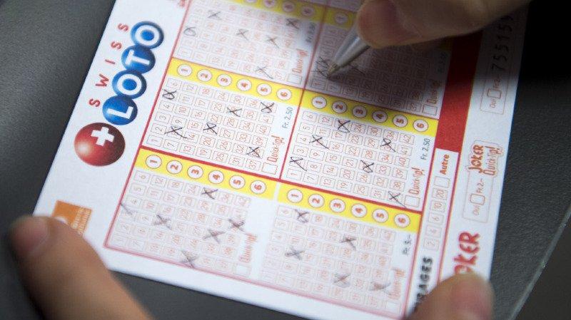 Loterie: un joueur remporte un million au Swiss Loto