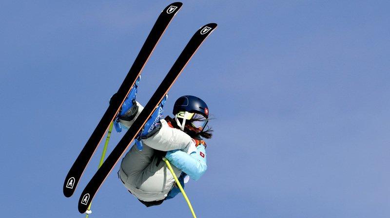 Sarah Höfflin est en forme à une semaine du début des Championnats du monde de ski freestyle à Park City.