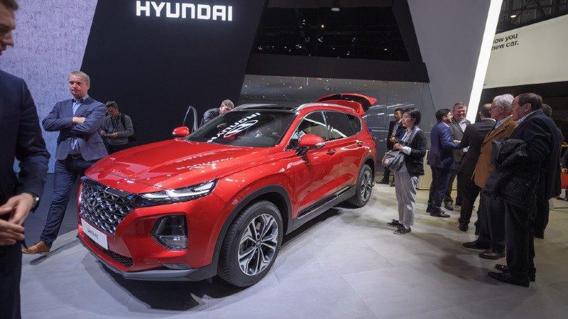 Le Sud-Coréen Hyundai a simplement expliqué qu'il n'avait pas de nouveauté à présenter cette année (archives).