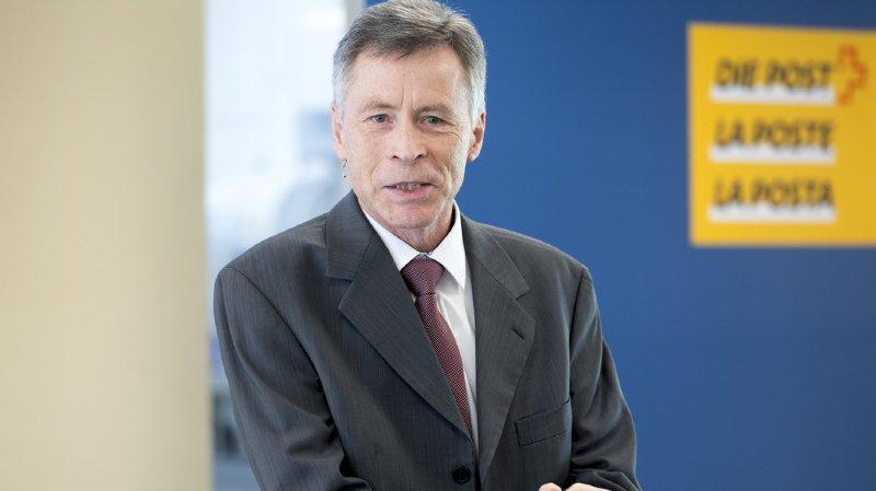 Ulrich Hurni, directeur ad-intérim général de la Poste était du voyage (archives).