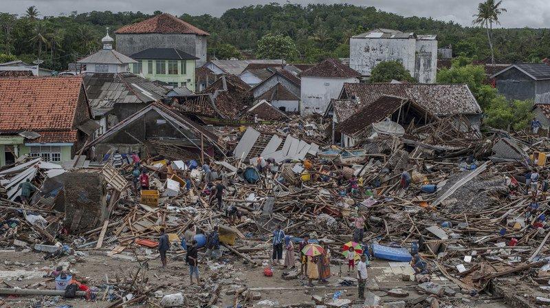 Le 22 décembre dernier, un tsunami a ravagé une partie de l'Indonésie.