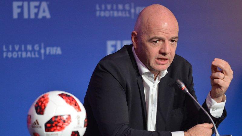 Football: seul candidat à sa succession, Infantino assuré de rester à la tête de la FIFA