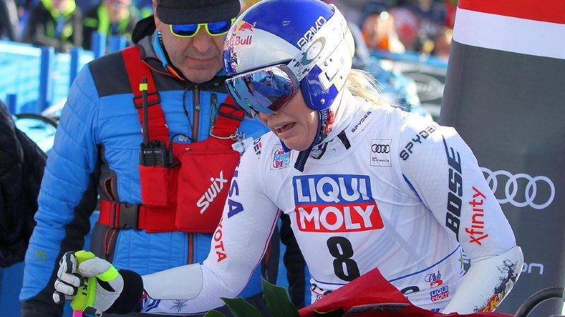 Lindsey Vonn, en larmes à la fin du Super-G de Cortina il y a 10 jours, savait probablement qu'elle devrait arrêter plus tôt que prévu.