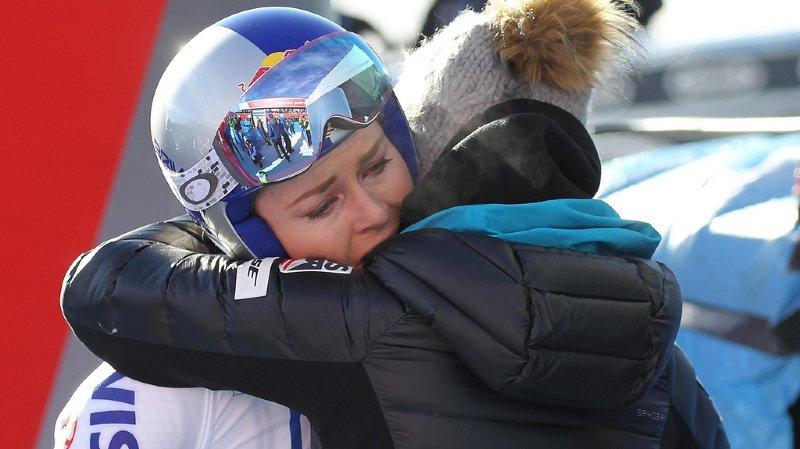 Lindsey Vonn, percluse de douleurs après le Super-G de Cortina, pensait devoir mettre un terme prématuré à sa carrière.