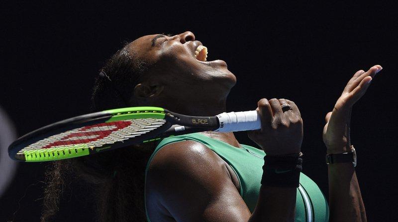 Serena Williams s'est tordue la cheville en pleine balle de match, lorsqu'elle menait 5 jeux à 1 dans le set décisif.