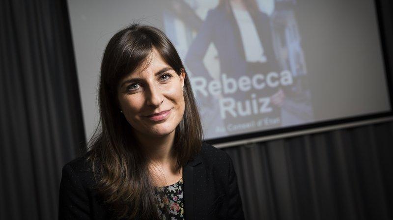 Rebecca Ruiz, candidate du parti socialiste au Conseil d'Etat vaudois, fait figure de favorite.