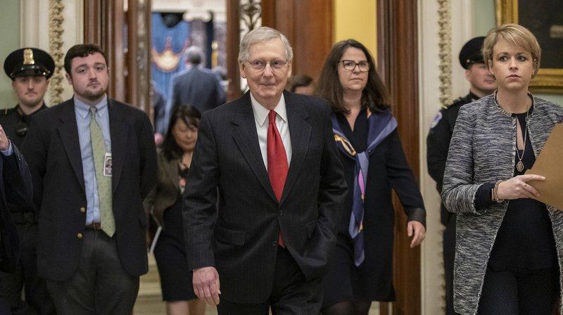 Etats-Unis: le Sénat refuse le plan de sortie de crise de Donald Trump