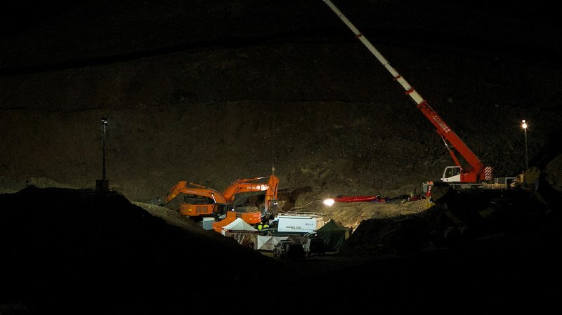 Sauvetage du petit Julen, tombé dans un puits en Espagne: de la roche extrêmement dure ralentit les mineurs