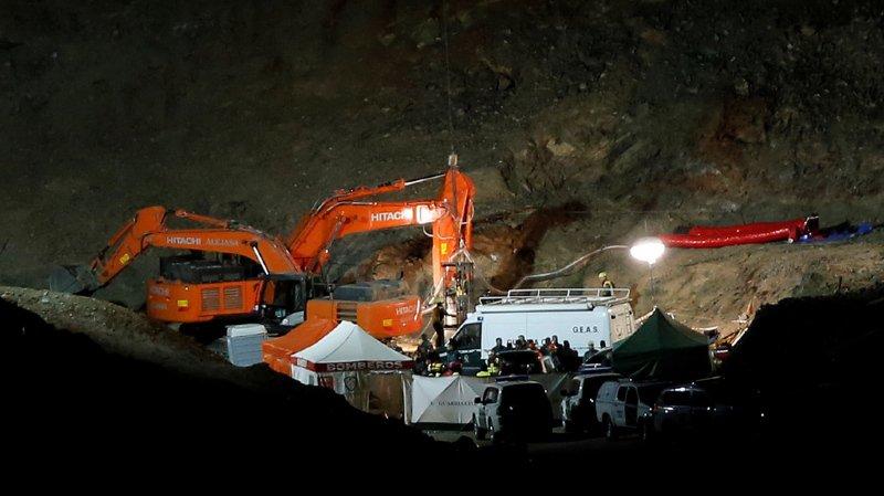 Espagne: le petit Julen tombé dans un puits à Totalan, en Andalousie, retrouvé mort