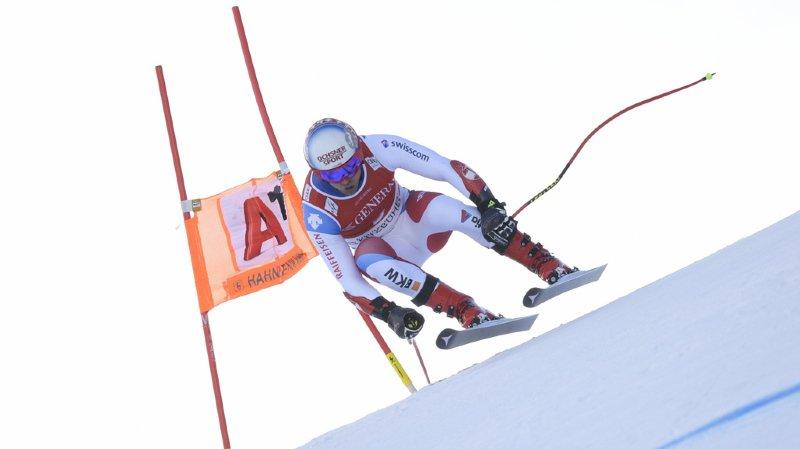 Mauro Caviezel termine meilleur Suisse de l'épreuve.