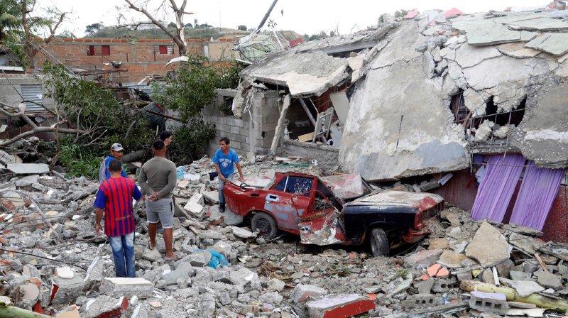 1238 habitations ont été endommagées par la tornade.
