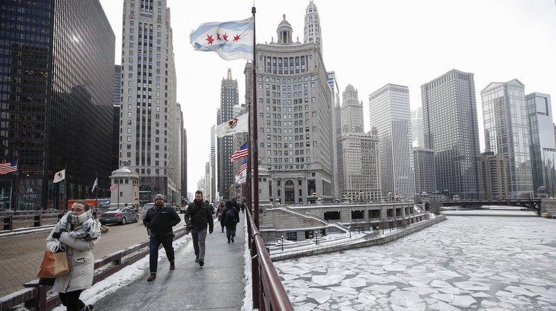 Vortex polaire: vague de froid historique aux Etats-Unis, -45°C à Chicago