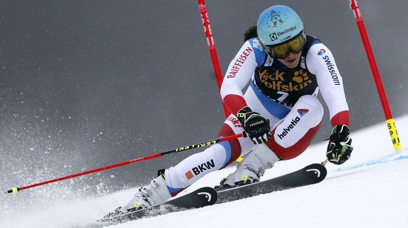 Ski alpin: Holdener décroche une belle quatrième place au géant de Maribor, remporté par Shiffrin et Vhlova