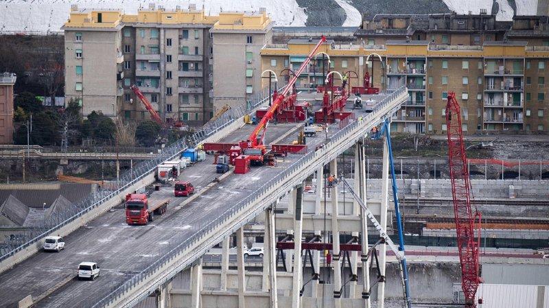 Italie: les opérations de démantèlement du pont Morandi, à Gênes, ont débuté