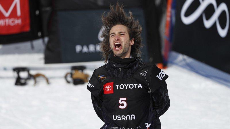 """Déjà """"bronzé"""" en 2017 à la Sierra Nevada, Pat Burgener a offert à la Suisse sa septième médaille dans ces joutes dédiées au snowboard et au ski freestyle."""