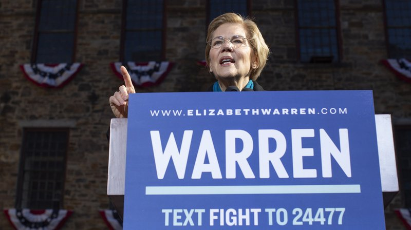 La sénatrice démocrate Elizabeth Warren a officialisé sa candidature à la présidentielle américaine de 2020.